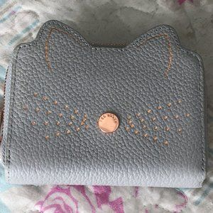 Ted Baker LOHANA Cat whiskers SM leather zip purse